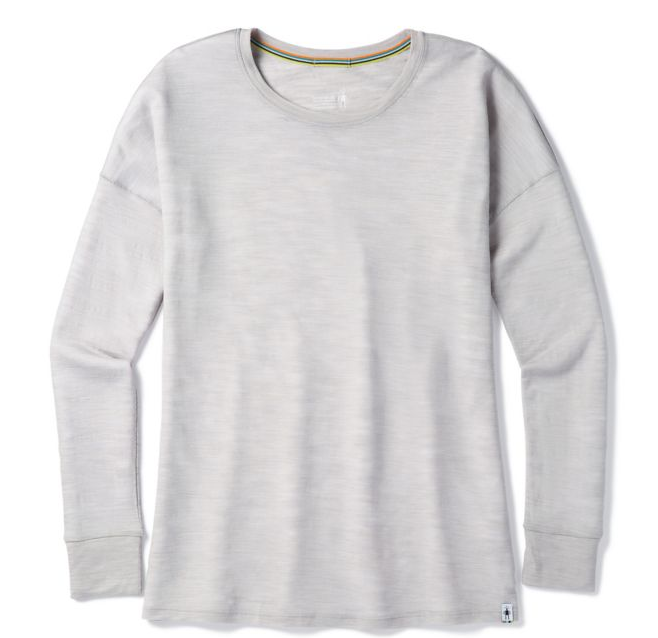 Women's everyday exploration slub long sleeve shirt.