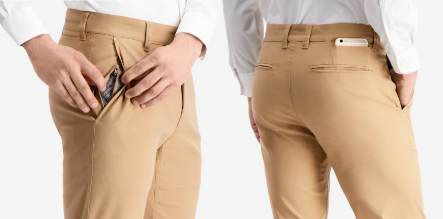 Bluffworks ascender chinos