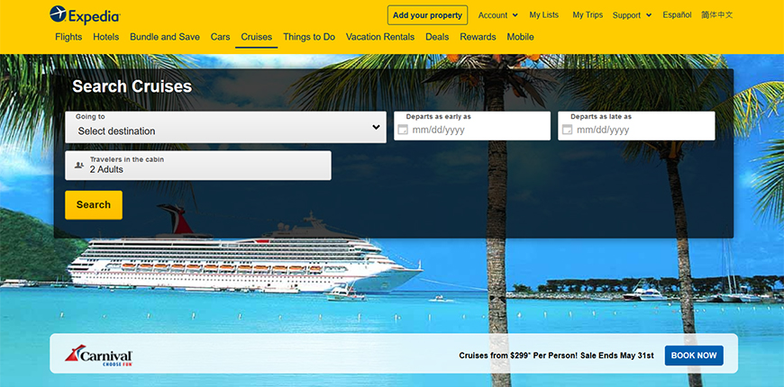 Best Cruise Deals >> The 10 Best Sites To Book A Cruise Smartertravel