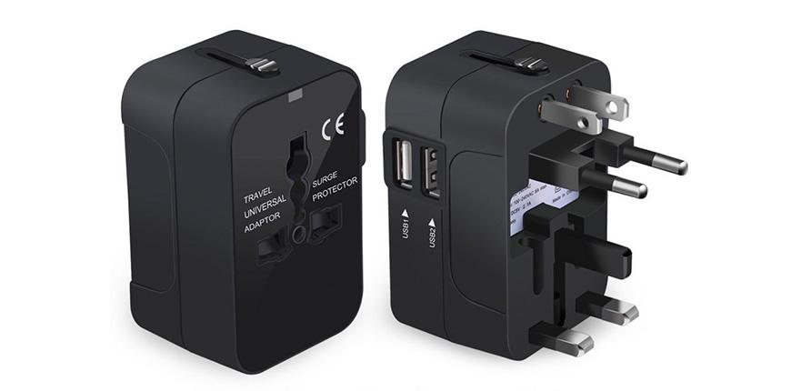 NEWVANGA international universal all in one worldwide travel adapter wall charger