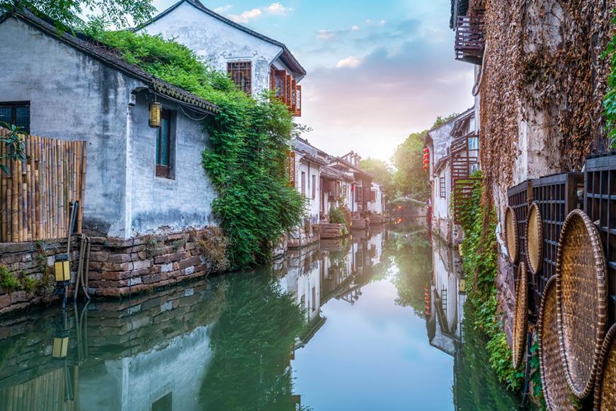 Suzhou jiangsu province waterway.