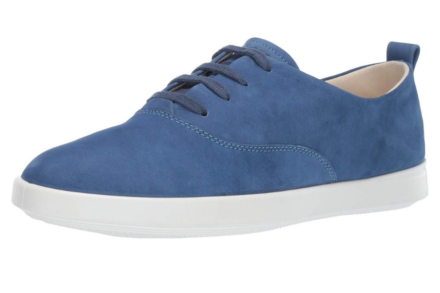 ECCO leisure sneaker blue.