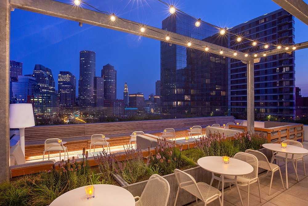 rooftop bar in boston
