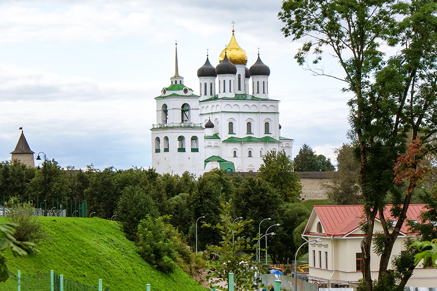 Churches of the pskov school architecture