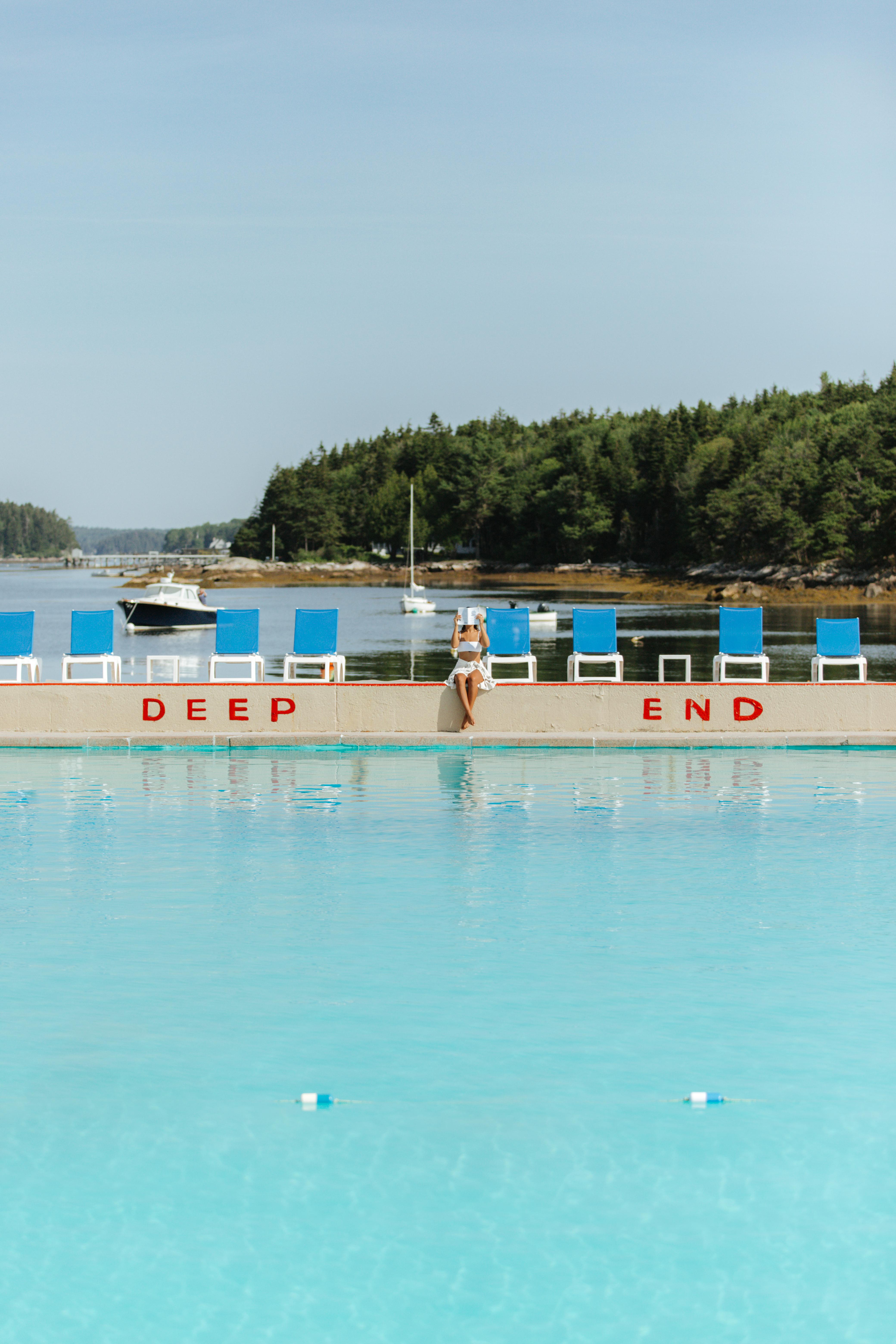 Sebasco harbor resort pool.