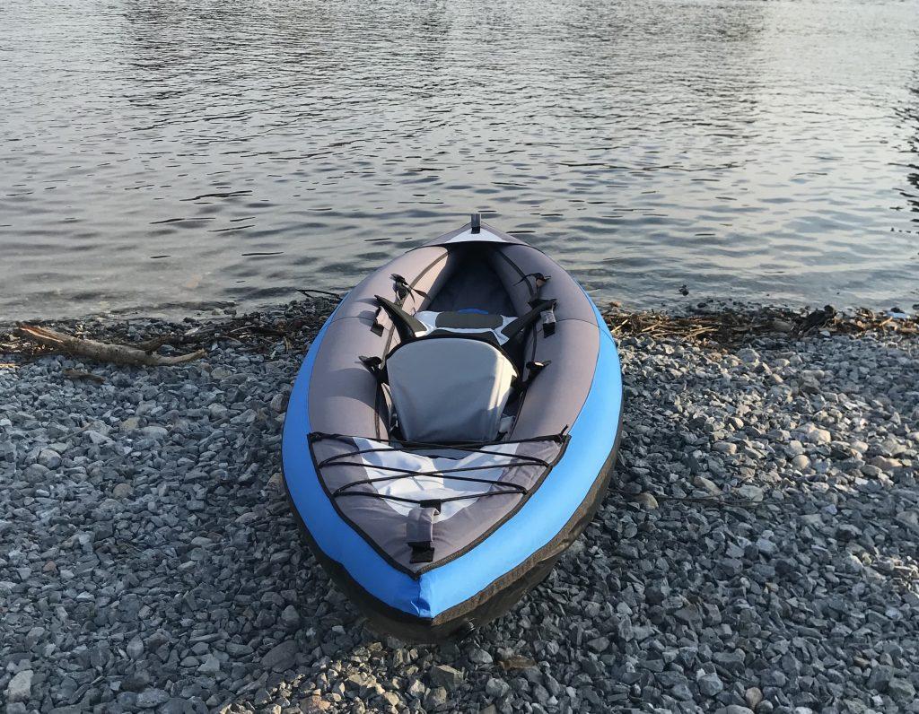 Decathalon inflatable kayak