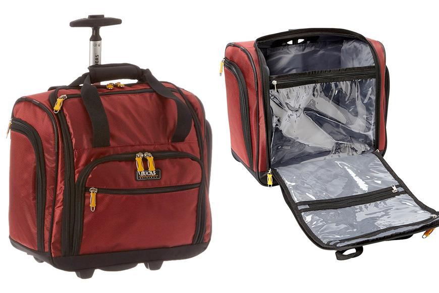 """LUCAS 16"""" wheeled underseat cabin bag"""