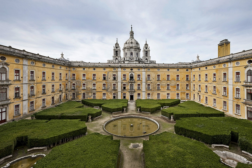 Royal building of mafra – palace, basilica, convent, cerco garden and hunting park (tapada)