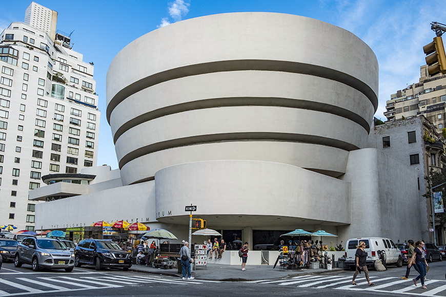 Guggenheim new york frank lloyd wright
