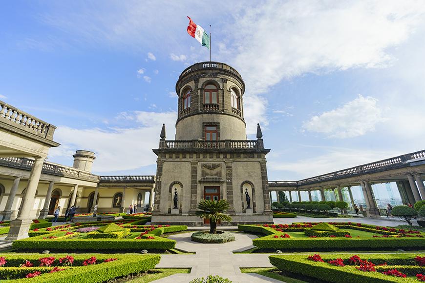 chapultepec castle mexico city.