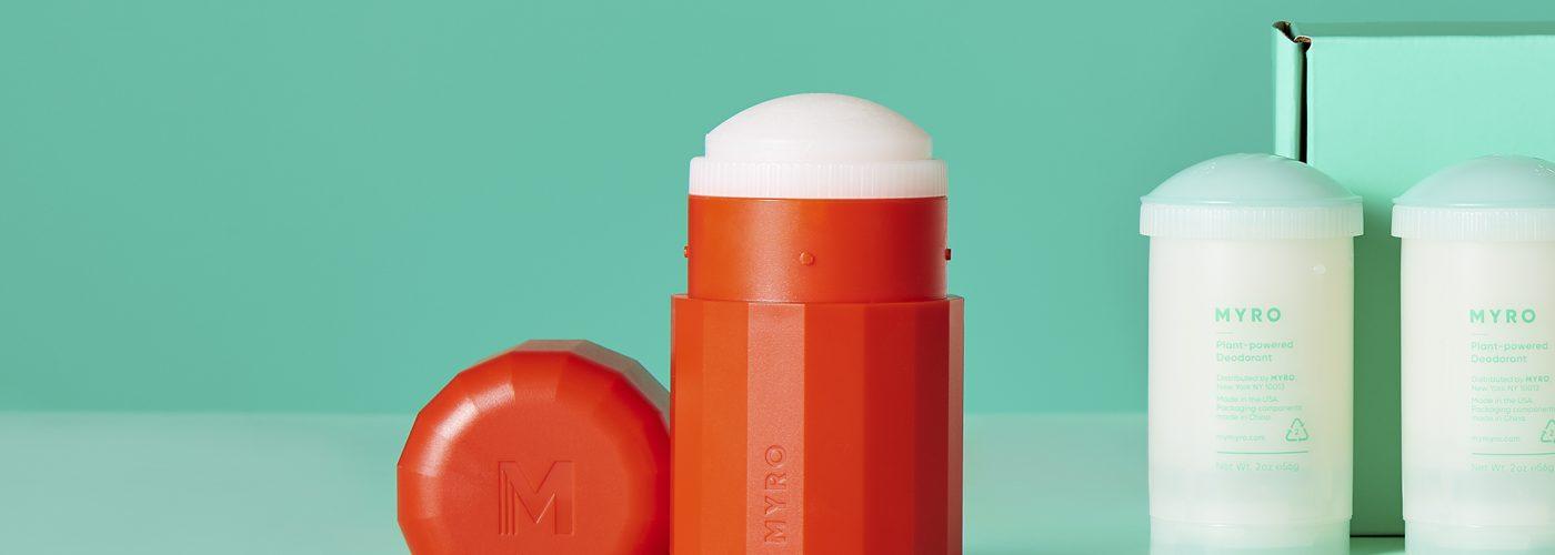 myro deodorant with box.