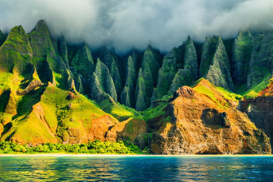 napali coast kauai.
