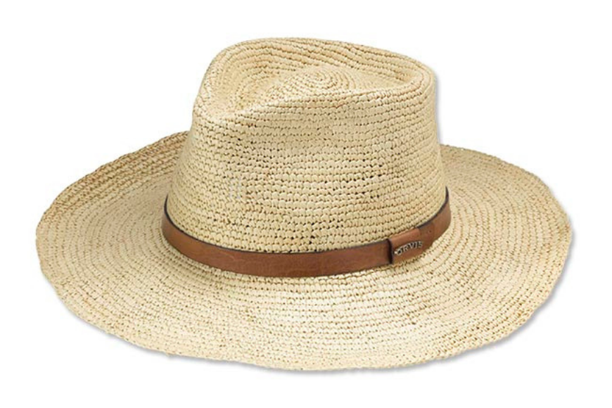 Orvis stowaway packable panama hat.