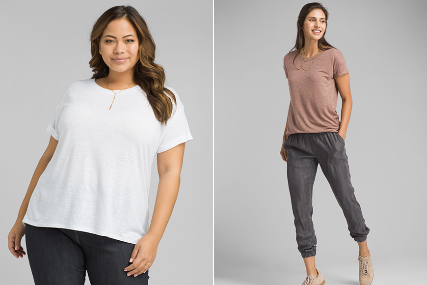 prana cozy-up t-shirt.