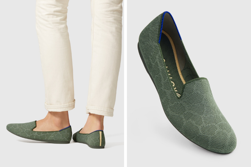rothys sustainable shoe