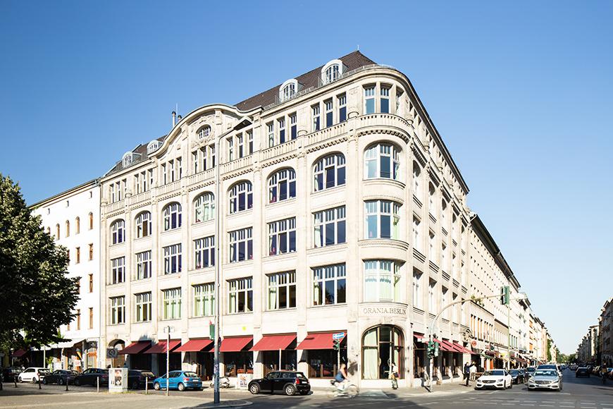 Hotel orania.berlin facade