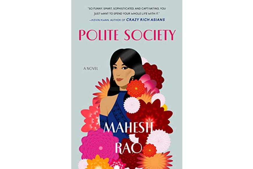 Polite society book cover by mahesh rao.
