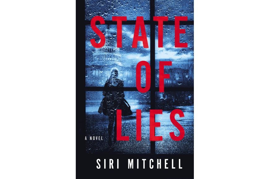 State of lies book cover by siri mitchell.