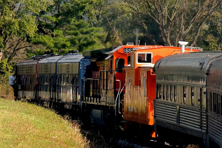 tennessee central railway train.