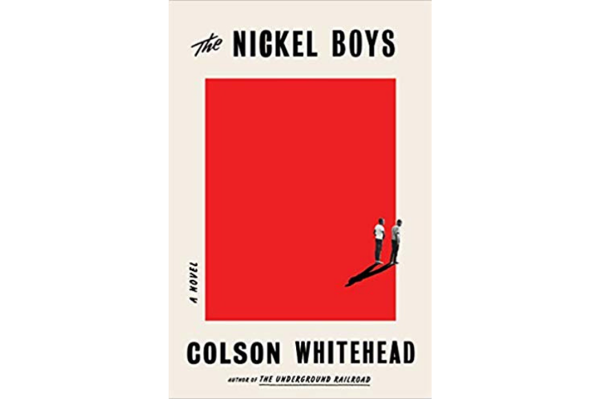 The nickel boys book cover by colson whitehead
