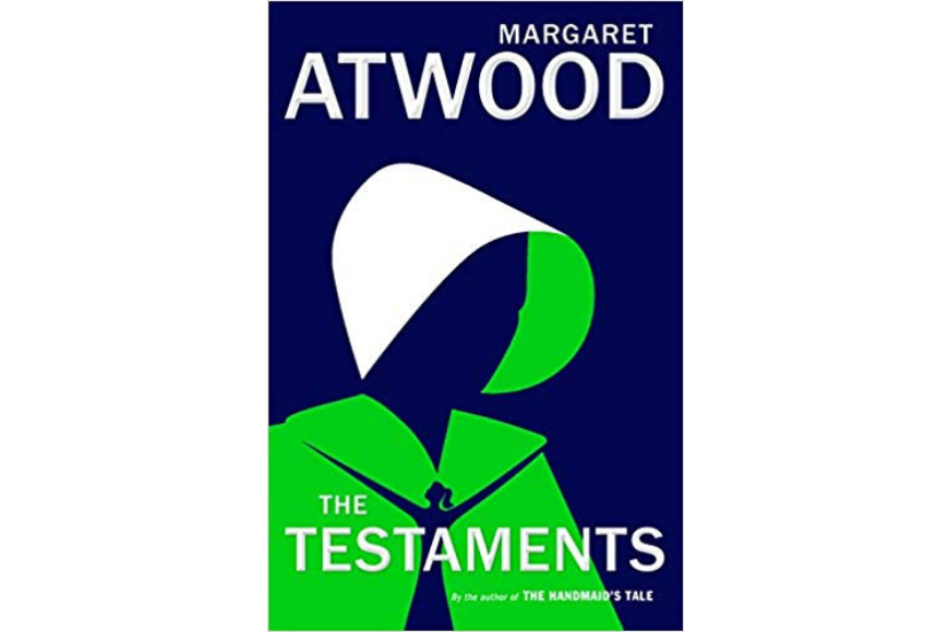 The testamants book cover by margaret atwood.