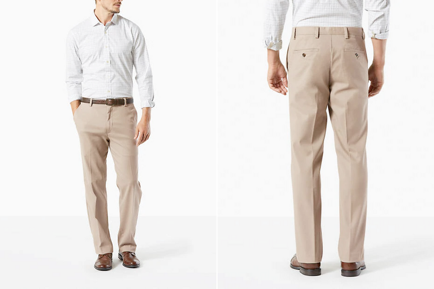 Dockers big & tall easy stretch khaki pants