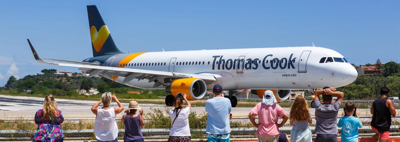 Thomas Cook travel provider shutdown.