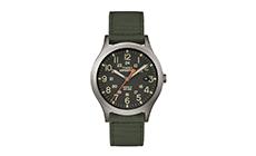 Olive mens wrist watch