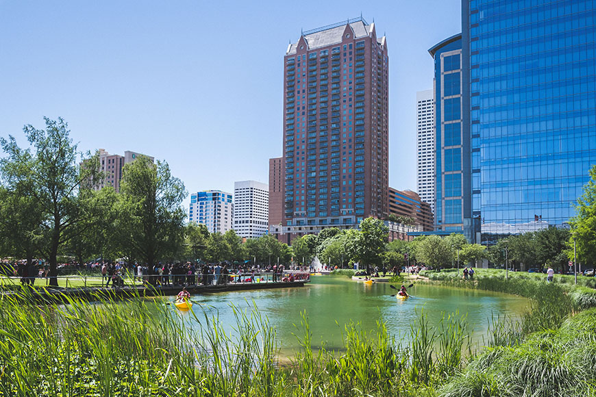 discovery green houston.