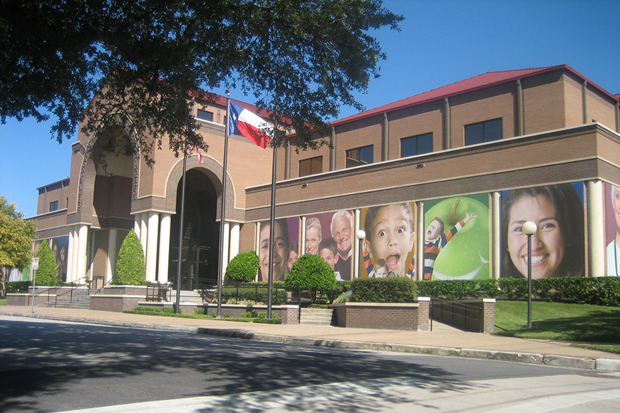 houston health museum exterior.