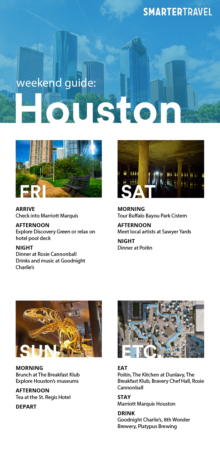 houston weekend guide.