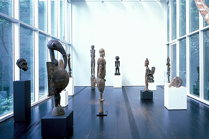 menil collection sculptures houston.