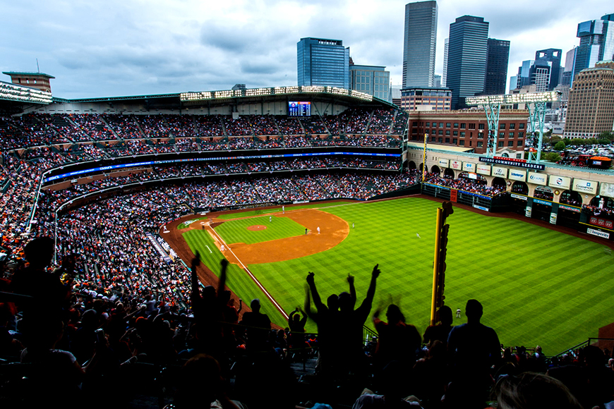 minute maid park houston.