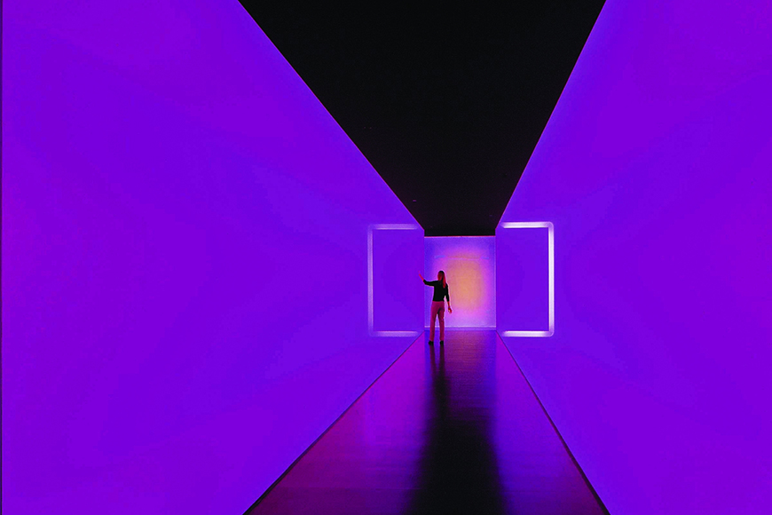 purple tunnel museum of fine arts houston.