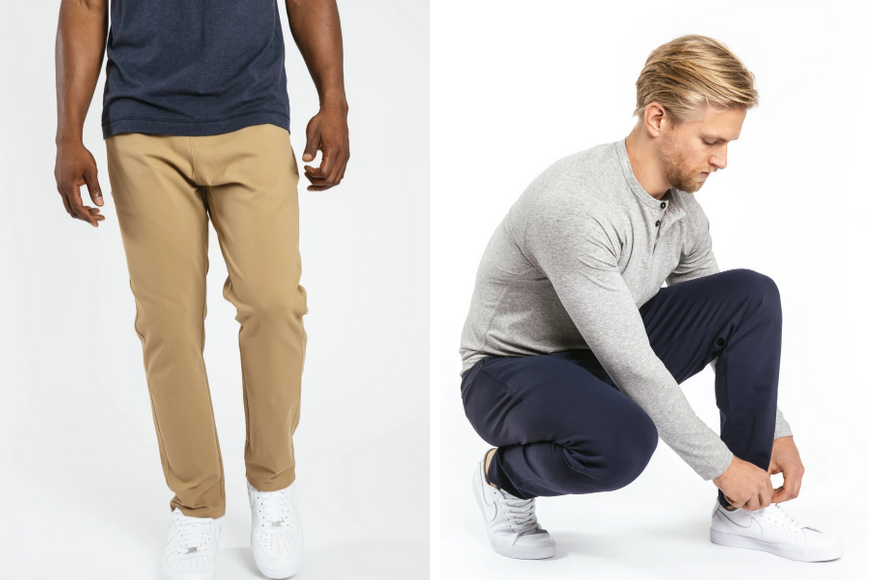 public rec athleisure travel pant male.