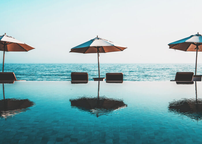 seaside hotels infinity pools