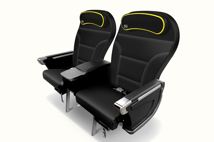 new spirit air seats