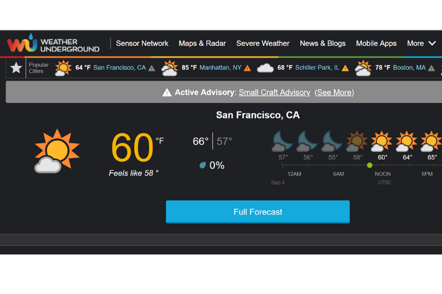 The 5 Most Accurate Weather Apps to Help You Pack for Your