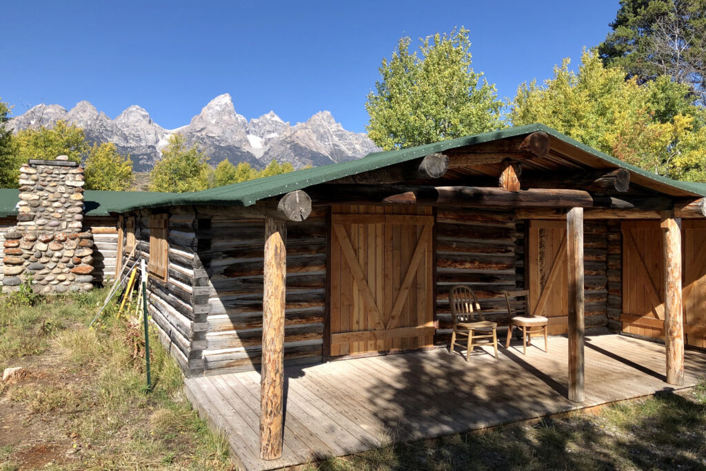 Dude ranch in jackson hole, wyoming's grand teton national park.