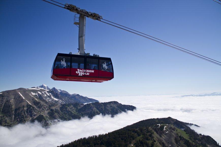 Jackson hole mountain resort tram.