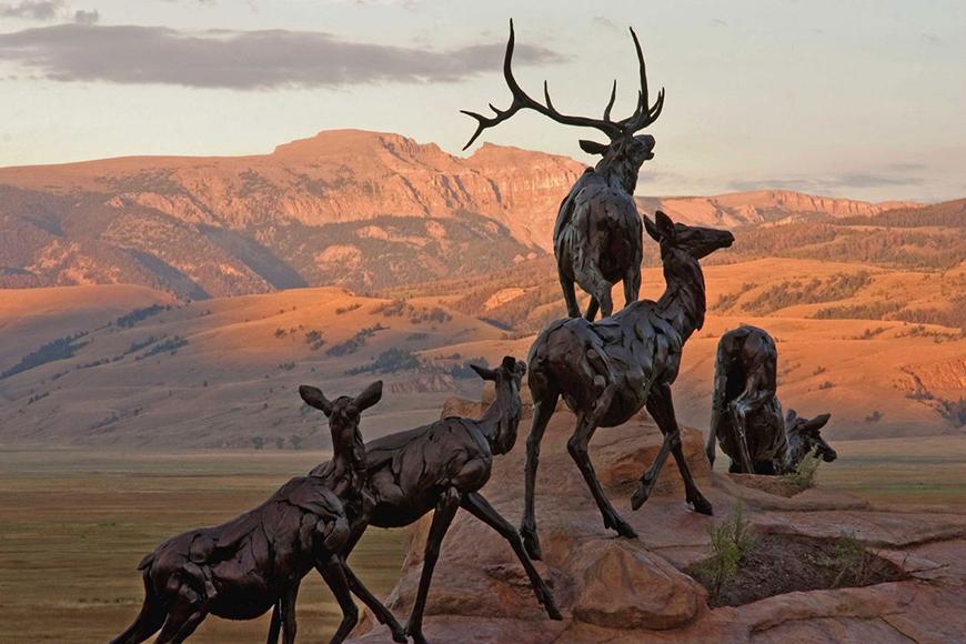 National museum of wildlife art, jackson, wyoming.