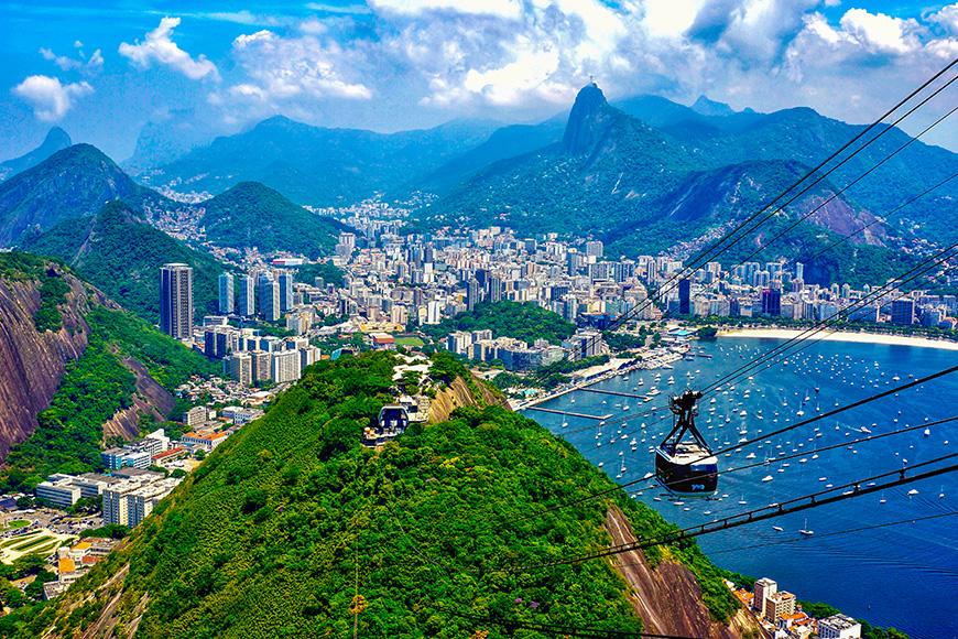 Rio de janeiro tram brazil