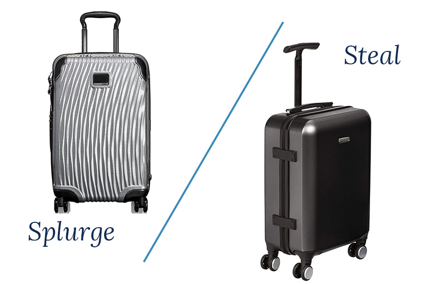 Spinner carry-on