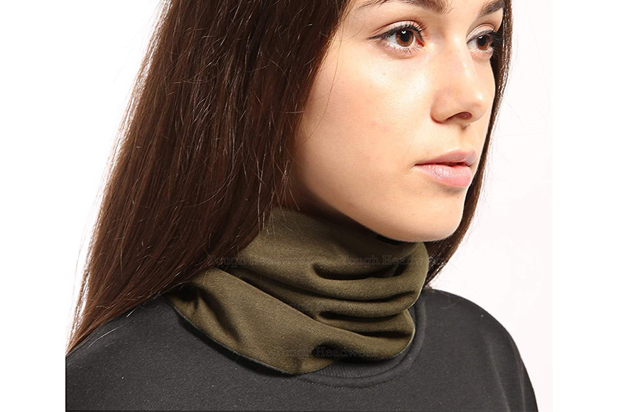 Tough headwear fleece neck and ear warmer