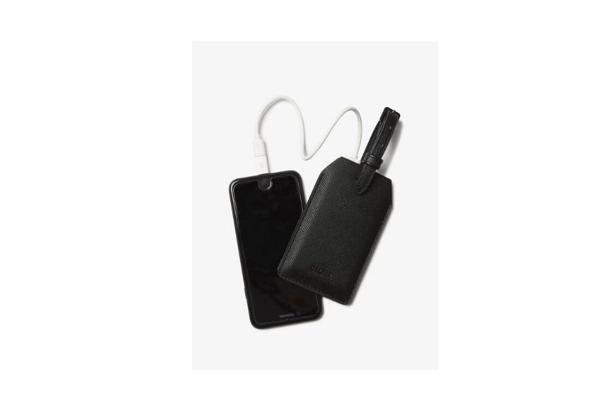 Calpak power luggage tag.