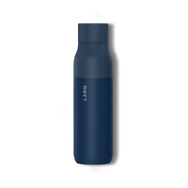 Larq self-cleaning water bottle.