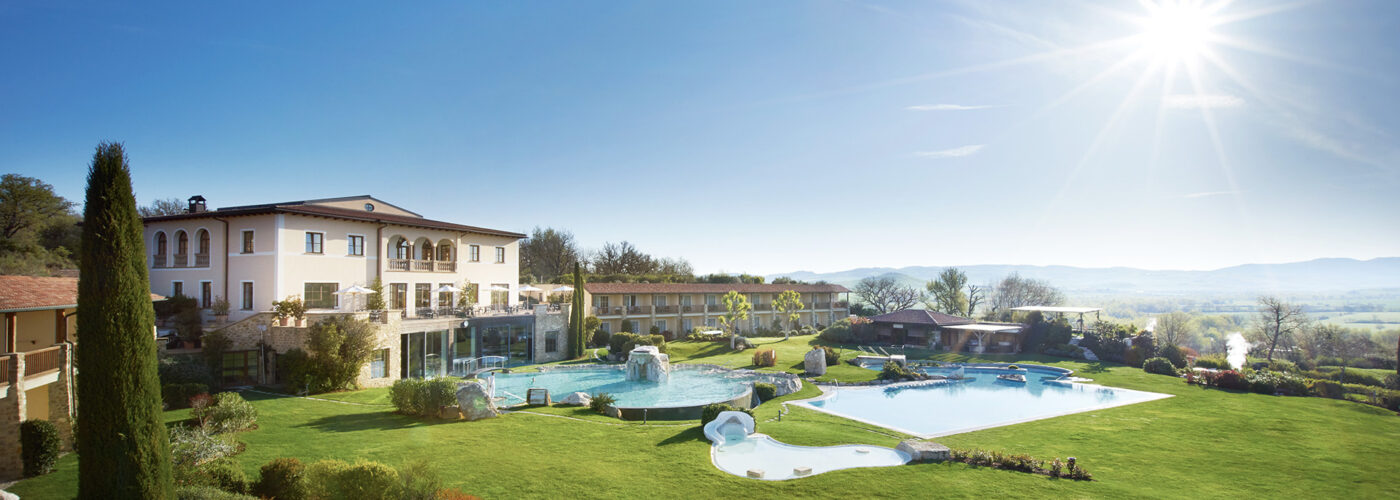 grounds of the Adler Spa Resort Thermae