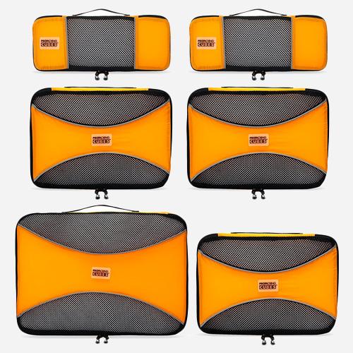 Cubes d'emballage Pro, ensemble léger de 6 pièces