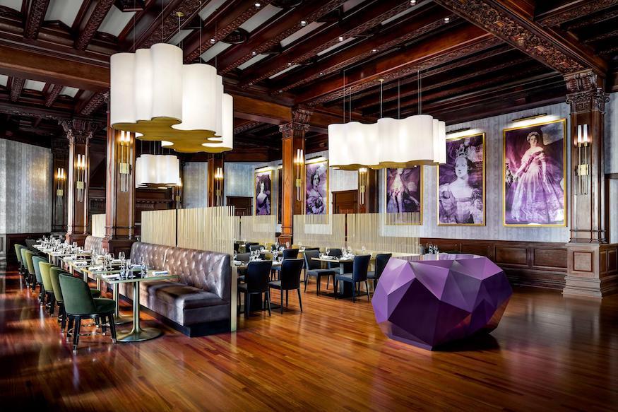 Q at the empress restaurant, victoria, b.c.