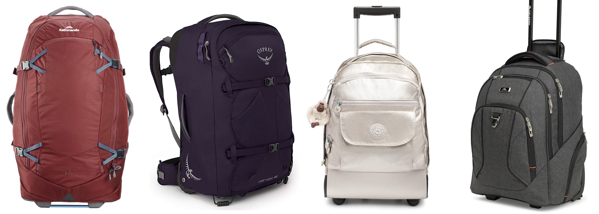 The 8 Best Rolling Backpacks For Savvy Travelers